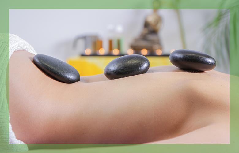 Kosmetikinsel Sabine Sammet HotStone Massage